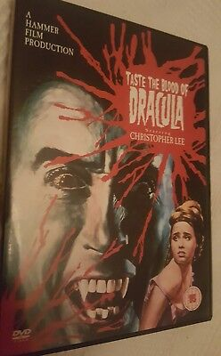 Taste the blood of Dracula dvd Hammer Christopher Lee