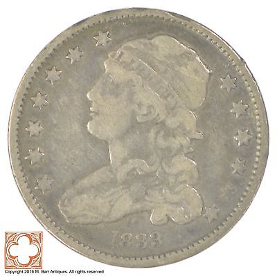 1833 Capped Bust Quarter *SB81