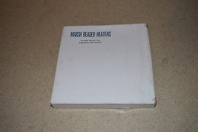 Marsh Beaded Heaters 12 Ft 400W 115 V -New