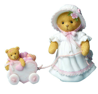 """CHERISHED TEDDIES """"VICKIE ~ HEART ON A STRING"""" w/ CART #4051036  FREE SHIPPING"""