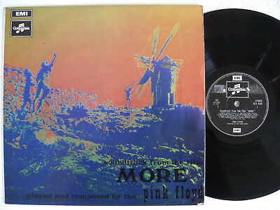 PINK FLOYD * Soundtrack from film More * COLUMBIA LP 1969