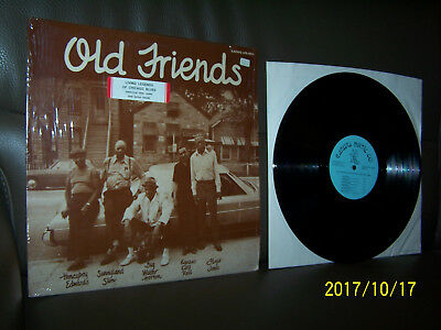 LP Old Friends Together For The First Time - David Edwards Sunnyl.Slim W. Horton
