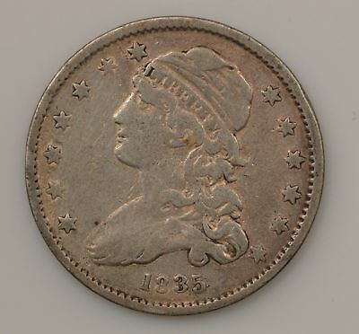 1835 Capped Bust Quarter Dollar *G57