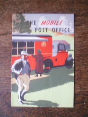 The Mobile Post Office. 1937 GPO Booklet