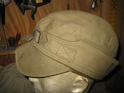 Us Army Ww2 1940 Dated Early War Winter Cap Hat Size 7 1/4