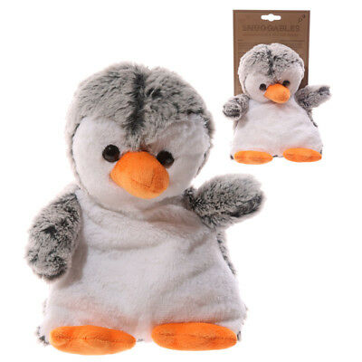 Penguin  cuddly toy wheat and lavender pad microwave heat bag giraffe warmer