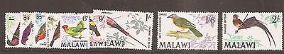 Malawi 1968 Birds to 2 shillings mint hinged w9691