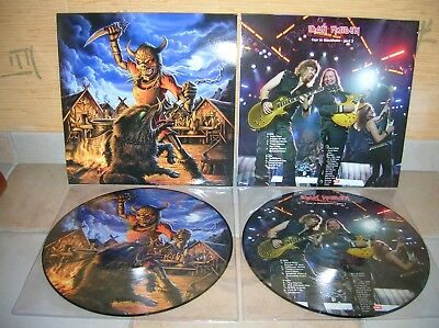Iron Maiden - Fear Of The Dark Show Part 2 Lp Picture Disc Ultrarare Collector !