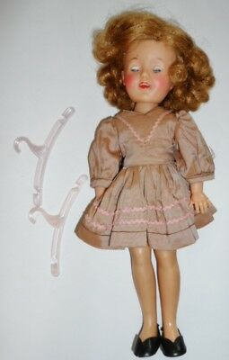 """Shirley Temple Doll IDEAL DOLL ST-12 Mark On Neck 12"""" Tall"""