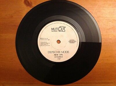 DEPECHE MODE 1981 vinyl 45rpm single NEW LIFE / SHOUT