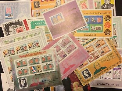 Collection Of 20 Stamps Mini Sheets