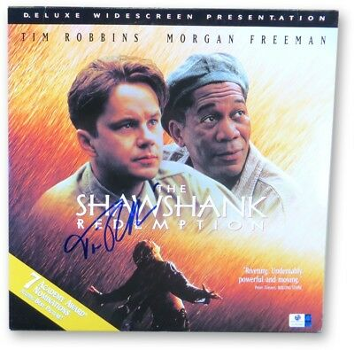 Tim Robbins Signed Autographed Laserdisc Cover The Shawshank Redemption GV865960