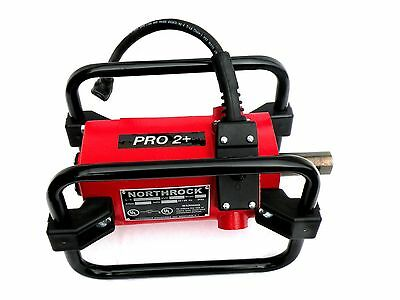 Concrete Vibrator, NorthRock Pro 1.5 HP Power Unit, Uses Wyco Shafts & Heads