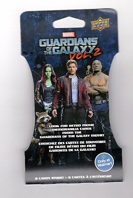 Upper Deck Guardians of the Galaxy Vol. 2- Walmart Exclusive Packs