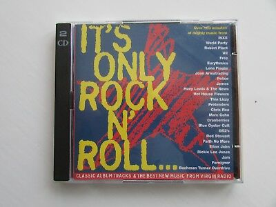 It's Only Rock'n'Roll Double CD by Various Artists. Used but in v.g.c.