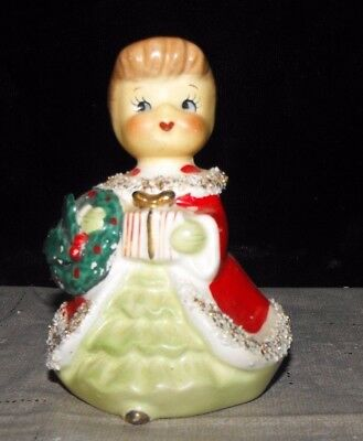 VINTAGE CONSCO MARILYN EXCLUSIVE CHRISTMAS GIRL w/GIFT & LABEL