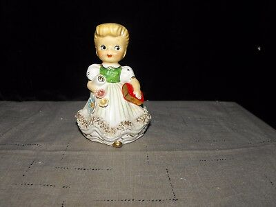 VINTAGE CONSCO MARILYN EXCLUSIVE ? SAMPLE No. 7C26 C&J CERAMICS CO .GIRL BELL