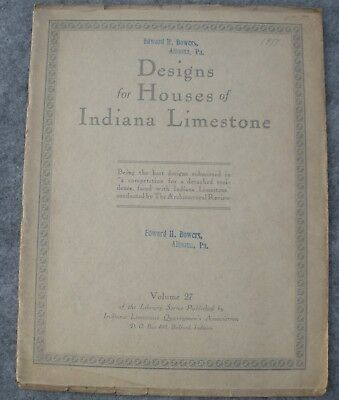 1920 Designs for Houses of Indiana Limestone - The Architectural Review Magazine