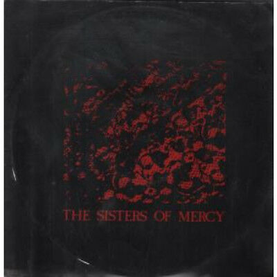 "SISTERS OF MERCY No Time To Cry 12"" VINYL UK Merciful 1985 3 Track B/W Blood"