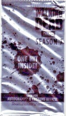 2017 TOPPS The Walking Dead Season 7 GUARANTEED Auto HOT PACK Autograph