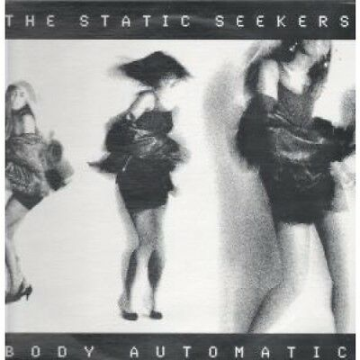 """STATIC SEEKERS Body Automatic 12"""" VINYL US Axis 1990 6 Track B/W"""