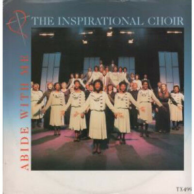 "INSPIRATIONAL CHOIR Abide With Me 12"" VINYL UK Epic 1984 3 Track B/W Sweet Holy"