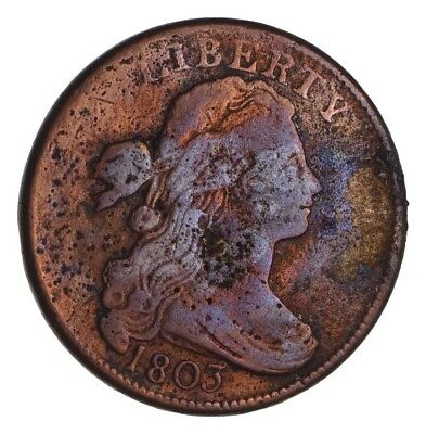 1803 Draped Bust Large Cent - Circulated *1378