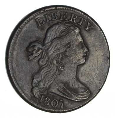 1807 Draped Bust Large Cent - Circulated *1255