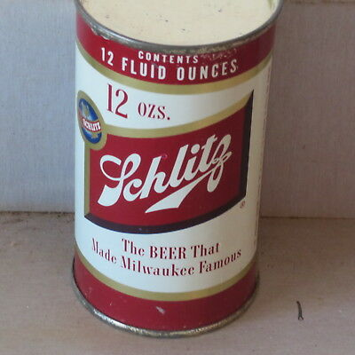 Schlitz  Beer   Real  Beauty  1954   Flat Top  From  Brooklyn Variety