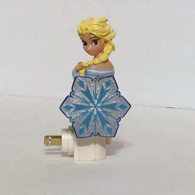 Disney Movie Frozen 26413 ELSA Resin Plug-In Night Light with Switch In Gift Box