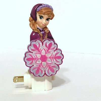 Disney Movie Frozen 26414 ANNA Resin Plug-In Night Light with Switch In Gift Box