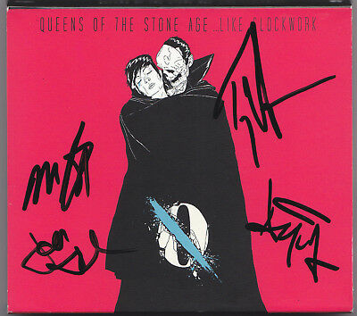 Queens Of A Stone Age Like Clockwork Cd Cover  Jon Troy Michael Dean