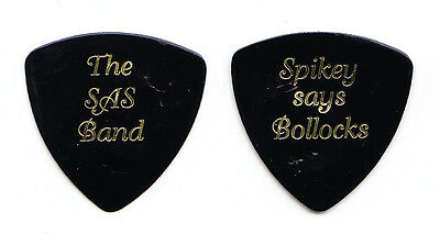 Queen Spike Edney The SAS Band Black Guitar Pick - 1990s Tours