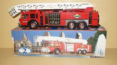 SUNOCO 1995 AERIAL TOWER FIRE TRUCK 2nd of a Series MARCUS HOOK 94 - MINT NIB