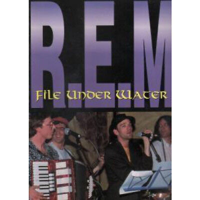 REM File Under Water BOOK UK Imaginary 1992 127 Page Softback First Edition.