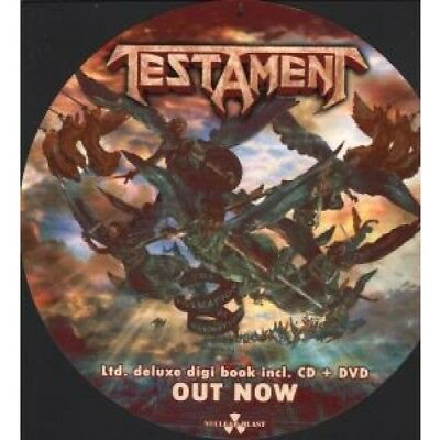 TESTAMENT/TIAMAT Formation Of Damnation/Amanethes CARD European Nuclear Blast