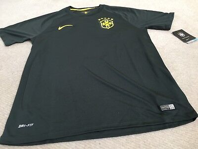 Brazil  Away  Football Shirt  3Rd Kit Nike  Size L Bnwt
