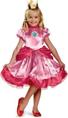 Licensed Nintendo Princess Peach Super Mario Brothers Toddler Girl Costume