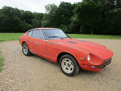 Datsun 280z 1977  LHD Very Rust Free 2 Seater Coupe. Perfect Project Runs