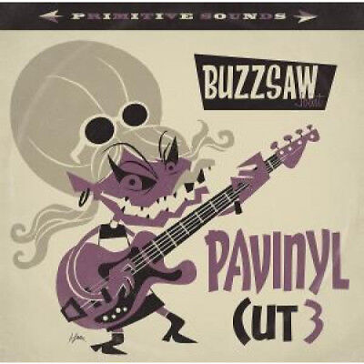 BUZZSAW JOINT PAVINYL CUT 3 Various Artists NEWSLETTER European Stag O Lee 2017