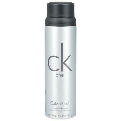 ck one by Calvin Klein 5.4 oz Body Spray for Men New