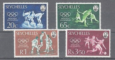 Seychellen  358 - 61  Oly Montreal  **  (mnh)