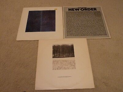 "New Order & Joy Division - 3 X 12"" Vinyl Bundle - Special Price"