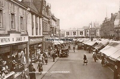 rp16361 - Market Place , Loughborough , Leicestershire - photo 6x4