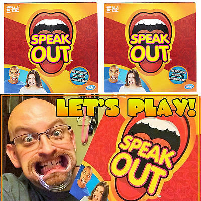 SPEAK OUT Board Game SPEAKOUT Extra Mouthpiece Mouthguard Party Family Gift