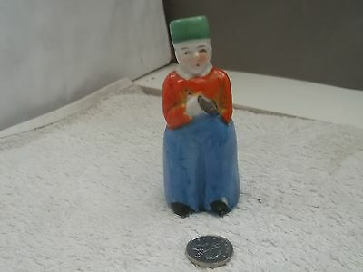 ?vintage Pepper Pot In The Shape Of An Oriental Man    No Maker  Made In Japan