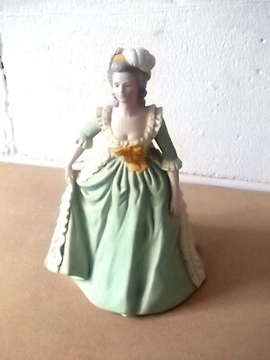 1982 Franklin Mint Hand Painted Figure Of Marie Antoinette