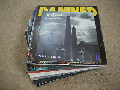 THE DAMNED Job Lot Record Collection many rarities