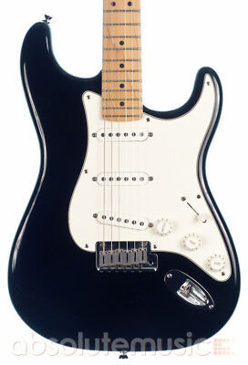 Fender American Standard Stratocaster Electric Guitar Black (Pre-Owned)