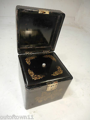 Antique Chinese Tea Caddy   ref 2326